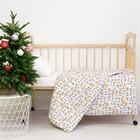 Одеяло Этель «Олень», 110 × 140 см, 100 % хлопок, фланель