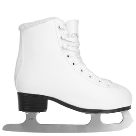 215B ice skates with fur, size 34