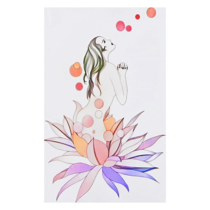 """Набор для творчества """"Филигранный рисунок - девушка в цветке"""" - фото 683905771"""