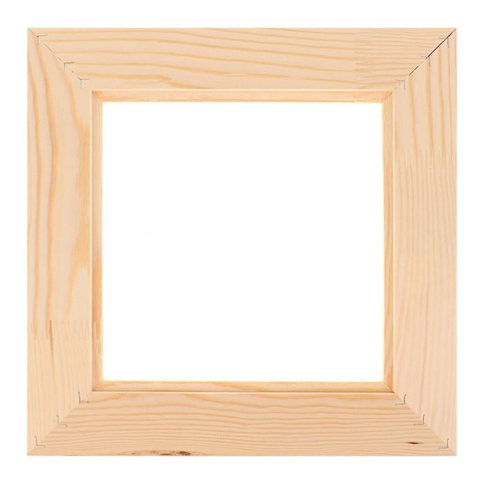 Рамка для декорирования №2, 20 х 20 см, профиль 16 х 50 мм - фото 377859842