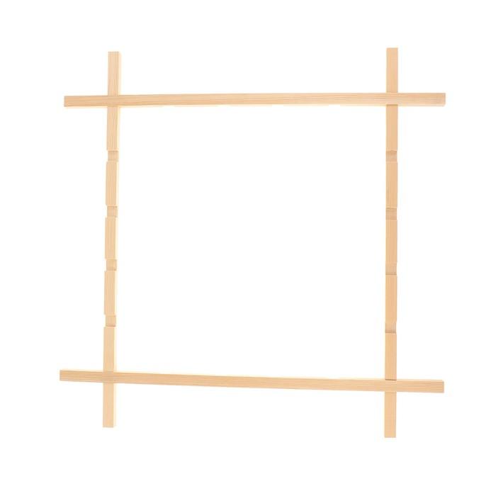 Рамка фиксированная для батика, 68х68 см, «Школа Художников»
