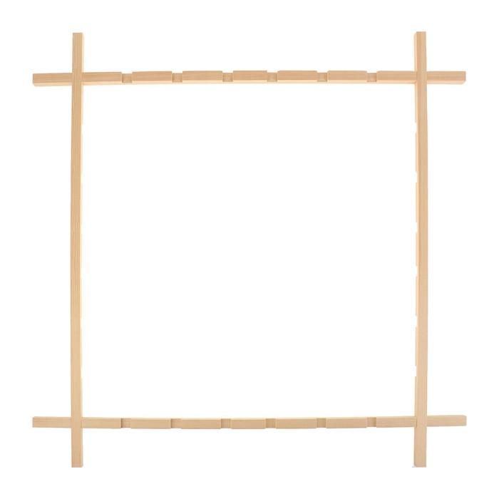 Рамка фиксированная для батика, 88х88 см, «Школа Художников»