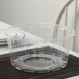 Тортница одноразовая ПР-Т-192, крышка, 22,5×11 см, цвет прозрачный, 150 шт/уп.