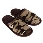 Туфли комнатные детские арт. BTK70801-99-72 (зеленый/коричневый) (р. 34)