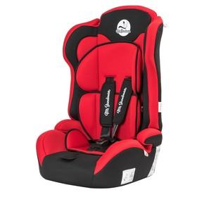 Автокресло  Safe Road, группа 1-2-3 (9-36) кг, цвет чёрный/красный Ош