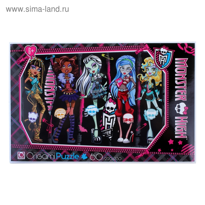 "Пазлы ""Monster High"", 60 элементов"