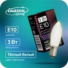 Bulb for Christmas slides, 3 W, 34 In, base E10, 2 PCs