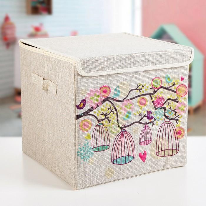 "Короб для хранения 30×30×28,5 см ""Весна"""