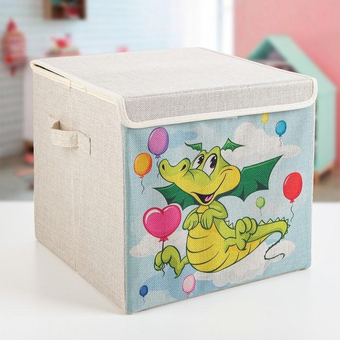 "Короб для хранения 30×30×28.5 см ""Дракоша"""