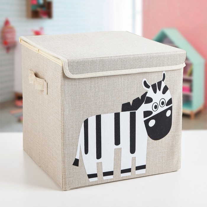 "Короб для хранения 30×30×28,5 см ""Зебра"""