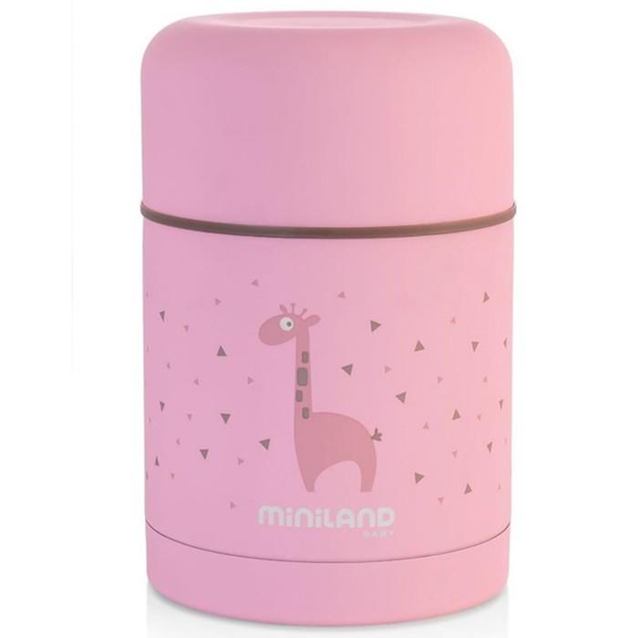 Термос для еды детский Silky Thermos 600 мл, розовый