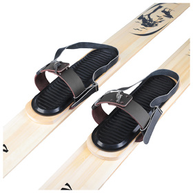 Hunting mounts, leather (toe and heel strap)