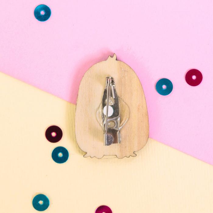 """Значок деревянный в конверте """"Пингвин"""" - фото 245326112"""