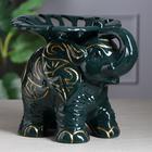 """Конфетница """"Слон"""" зелёная, микс - фото 233463"""