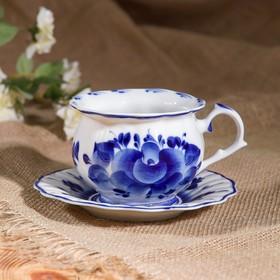 "Decorative vase ""Imperial"", Gzhel, porcelain, 2s"