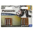 Батарейка алкалиновая Panasonic Alkaline Power, Цирк дю Солей, ААА, LR3-8BL, блистер, 8 шт