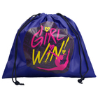 Cover for gymnastic ball Girl win, 28,5 x 29,7 cm