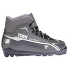 Ботинки лыжные TREK Sportiks SNS ИК, цвет металик, лого серебро, размер 45