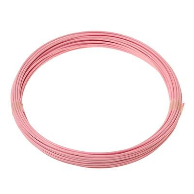 Plastic for 3D pen LuazON ABS for 3D pens, length 10 m, pink