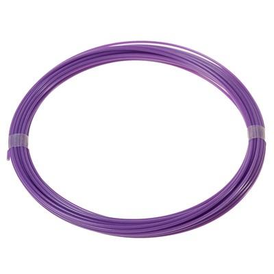 Plastic for 3D pen LuazON ABS for 3D pens, length 10 m, purple