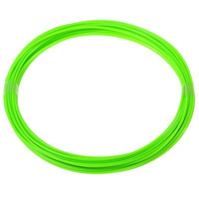 Пластик для 3D ручки LuazON ABS, для 3Д ручки, длина 10 м, зеленый - флуоресцентный