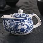 "The tea pot 200 ml ""Eastern wisdom"", color blue"
