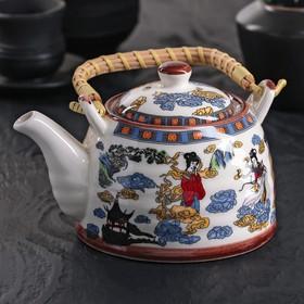 Чайник заварочный «Девушка», 600 мл, с металлическим ситом