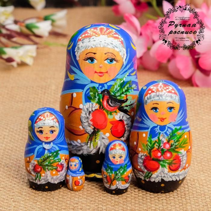 Купеческий Курган, Матрёшка «Морозко», 5 кукольная, 11х6,5х5,5 см