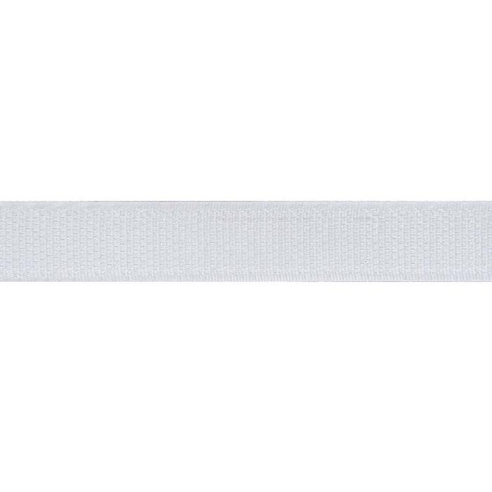 Шторная лента в рулоне, 25 м, 2 см, цвет белый