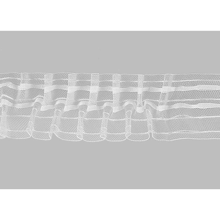 Тесьма прозрачная (бабочка) в рулоне (50 м), ширина 6 см