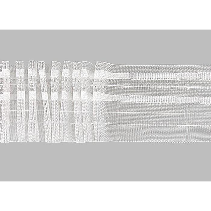 Тесьма прозрачная в рулоне, 50 м, ширина 6 см