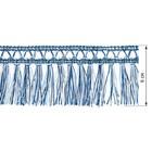 Бахрома в рулоне  (25 м), цвет синий