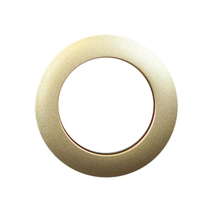 Люверсы для штор круглые (1 шт), d-40 мм, цвет золотой