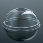 The lid is domed to Cup PAT, d=9.5 cm, h=4 cm, with hole