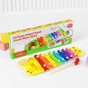 Музыкальная игрушка «Металлофон. Жираф», 8 тонов