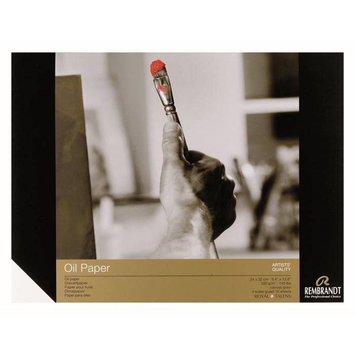 Альбом Масло В4 240*320мм Royal Talens Rembrandt 10л склейка 300г/м²