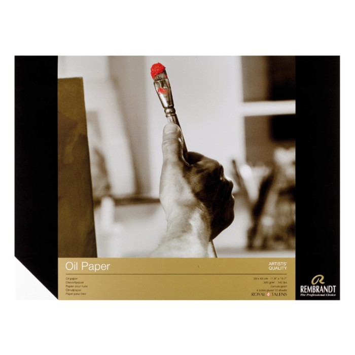 Альбом Масло А3 300*400мм Royal Talens Rembrandt 10л склейка 300г/м²