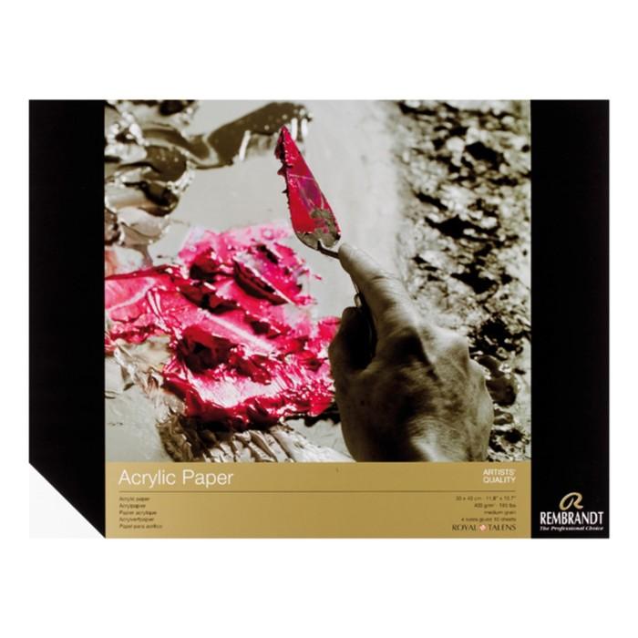 Альбом Акрил А3 300*400мм Royal Talens Rembrandt 10л склейка 400г/м²