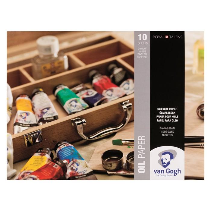 Альбом Масло В4 240*320мм Royal Talens Van Gogh 10л склейка 240г/м²