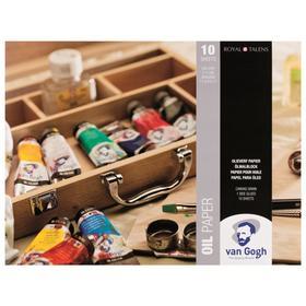 Альбом Масло А3, 300 х 400 мм, Royal Talens Van Gogh, 10 листов на склейке, 240 г/м²