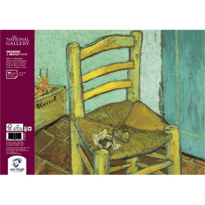 Альбом для Сухих техник А3 Royal Talens Van Gogh National Gallery 40л 160г/м спираль