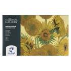 Акварель худ набор в кюветах 24цв Royal Talens Van Gogh National Gallery, д/к