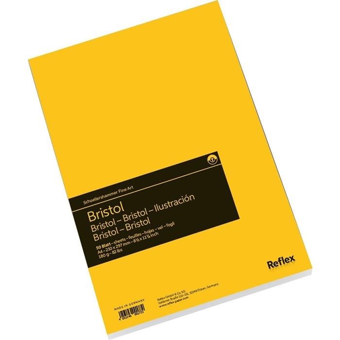 Альбом для Графики А4 Reflex Bristol 50л 180г/м² склейка