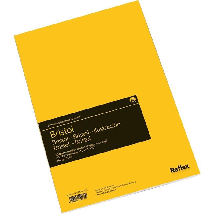 Альбом для Графики А3 Reflex Bristol 50л 180г/м² склейка