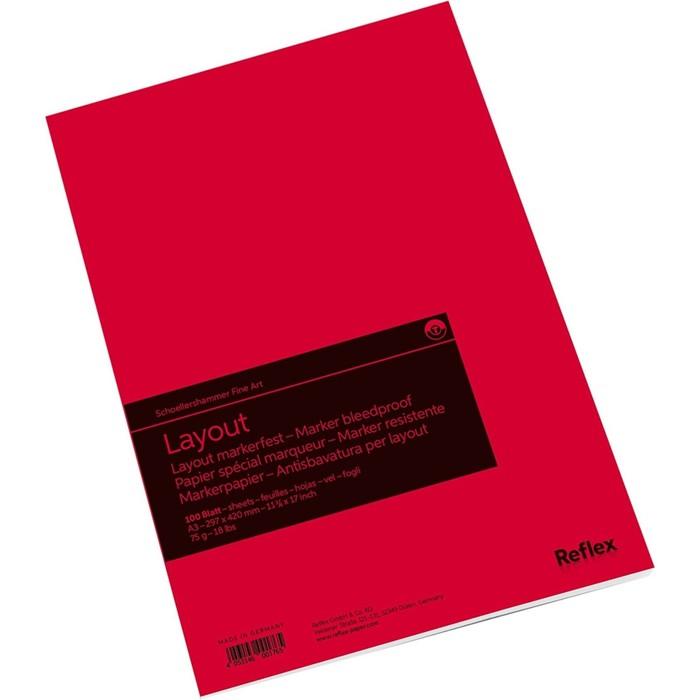 Альбом для маркеров А3 297*420 Reflex Marker Layout 75г/м² 100л скл
