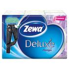 Носовые Платки Zewa Deluxe Design, 3 слоя, 6 упак. по 10шт