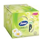 Салфетки бумажные косметические Zewa Deluxe Ромашка, 3 слоя, 60 шт