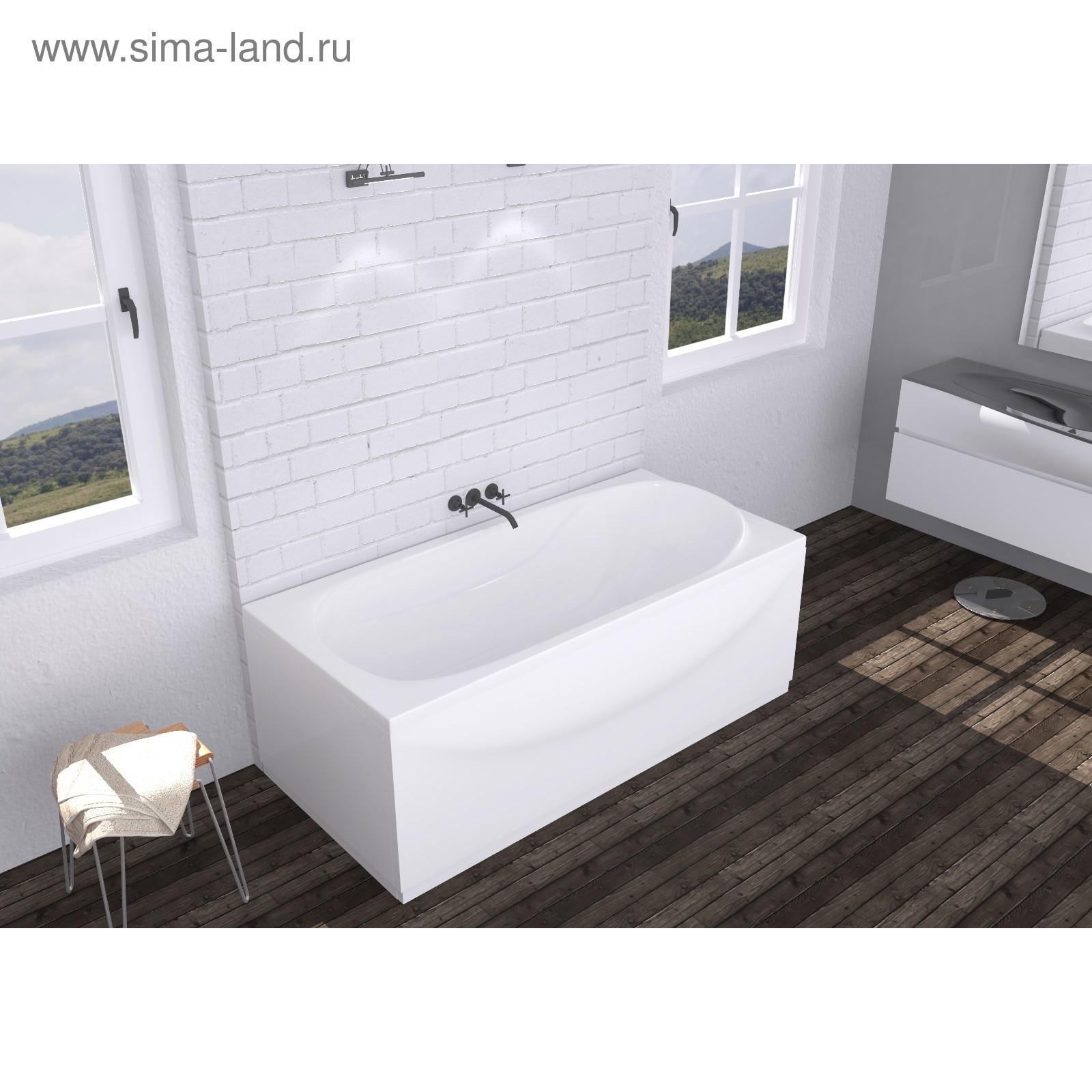 8c5bb9ae4850 Ванна акриловая DOMANI-Spa Classic, 150 × 70 × 59 см, без каркаса и ...