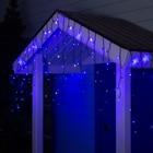 """Гирлянда """"Бахрома"""" уличная, УМС, 3 х 0.6 м, 3W LED-160/50-220V, мерцание, свечение синее"""