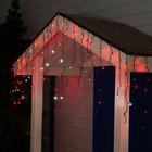 "Гирлянда ""Бахрома"" уличная, УМС, 3 х 0.6 м, 3W LED-160/50-220V, мерцание, свечение красное"